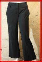 BCBG MAX AZRIA Taille 38 Superbe pantalon habillé noir femme black trousers