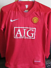 Manchester United-Home Camisa - 2007-09 - medio Boys-Rooney 10