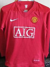 Manchester United - Home Shirt - 2007-09 - Medium Boys - Rooney 10