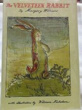 The Velveteen Rabbit by Margery Williams Ex-Library Plastic over Jacket No ISBN
