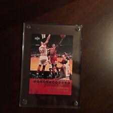 Michael Jordan Championship Card Bulls Vs Miami Heat