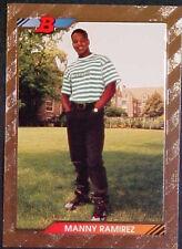 1992 BOWMAN MANNY RAMIREZ FOIL CARD #676