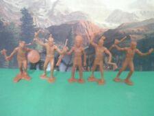 Soldatini Toy Soldiers INDIANI Tipo Marx Toys Figurini Vintage Alti 8 cm  CP