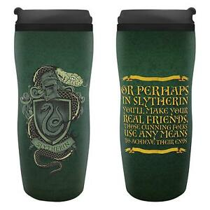Water Bottle Thermos Travel Harry Potter Slytherin Tumbler Travel Mug ABYstyle