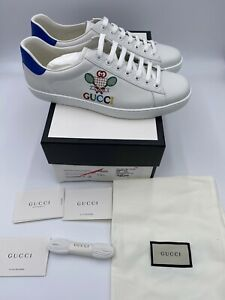 Men's Gucci Ace Sneakers With Gucci Tennis Size 11  Made In Italy