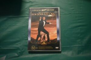 FOR YOUR EYES ONLY SPECIAL 007 EDITION DVD