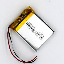 3.7V 1000 mAh 803040 3wire Li-Polymer Rechargeable Battery for GPS Bluetooth MP3