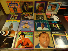 LOT OF 120 LP's SINGERS AND GROUPS FROM THE 50s & 60s