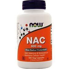 Now NAC w/ Selenium & Molybdenum  100 vcaps