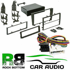 LEXUS IS300 01-04 SIMPLE OU D/Din Voiture Stereo Fascia & AMP By-pass Kit