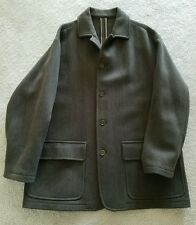 Victor Victoria Made In Italy Mens Wool coat Jacket size US50