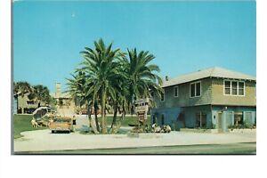 Vintage c1960 Postcard: Sea Dip Motel Atlantic Ave Daytona Beach Florida FL