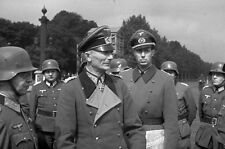 WWII B&W Photo German Officer Paris France 1940  World War Two WW2 / 2334