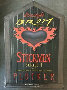 Mindstyle Brom Stickmen Series 1 Limited Edition Collectible Figure Set B