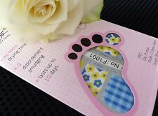 Nail Art Self Adhesive Full Toe Nails Polish Wrap Sticker Spring Flowers 1001T