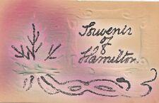 Maple Leaf Forever HAMILTON Ontario © 1906 Ingram Patriotic Air Brushed Postcard