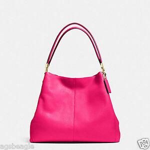 Coach Bag F34495 Madison Leather Small Phoebe Shoulder Bag Agsbeagle COD