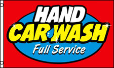 Hand Car Wash Flag 3x5 ft Business Advertising Sign Banner Auto Detailing