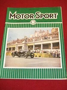MOTORSPORT - OCT 1961 VOL XXXVII # 10