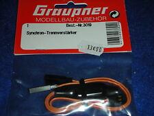 GRAUPNER 3019 cable AMPLIFICATEUR de SEPARATION SYNCHRONA synchronous amplifier