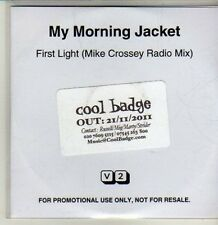(CQ768) My Morning Jacket, First Light - 2011 DJ CD