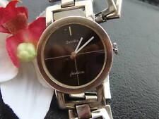 Schöne ZENTRA Silber Armbanduhr Silberuhr Damenuhr