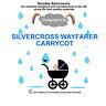 koodee uk Raincover To fit SILVERCROSS WAYFARER CARRYCOT BNIP