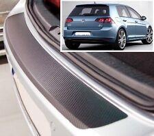 VW Golf MK7 - Estilo Carbono parachoques trasero Protector