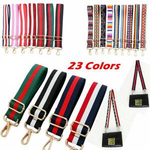 New Shoulder Bag Belt Strap Crossbody Nylon Adjustable Replacement Handbag Strap
