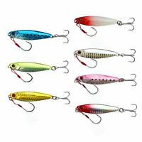 Such as the short-ol with a metal jig set lure 7-color set 25g assist hook-seaso