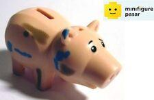 Lego Disney Pixar Toy Story 7596 - Hamm Dirt Pattern Pig Piggy Bank Minifigure
