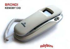 TELEFONO FILO KENOBY CID BRONDI GONDOLA COMPATTO COMODINO identificativo chi è W