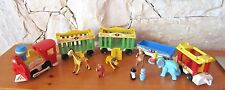 VINTAGE FISHER PRICE LITTLE PEOPLE PLAY FAMILY CIRCUS TRAIN #991