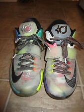 """Nike KD VII 7 """"What the KD"""" (801778-944) Multi-Color Athletic Shoes Men 11 USED"""