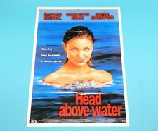 DOUBLE SIDED FOLDOUT POSTER HEAD ABOVE WATER PETER ANDRÉ 1996 HITKRANT MAGAZINE