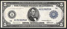 "1914 $5 FRN ""BOSTON""  ❀❀BURKE&McADOO❀❀  VERY BRIGHT&CRISP"