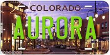 Aurora Colorado Novelty Car License Plate P01