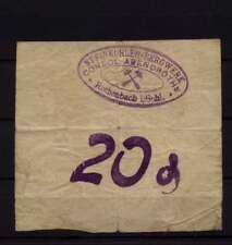 [16644] - Notgeld ROTHENBACH OS (heute: Gorce), Steinkohlen-Bergwerk Consol. Ab