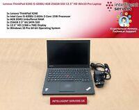"Lenovo ThinkPad X240, i5 4th Gen, 4GB DDR3, 256GB SSD, 12.5"" HD, Windows 10 Pro"