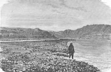 INDIA. Himalayas. upper course of Yamuna 1880 old antique print picture