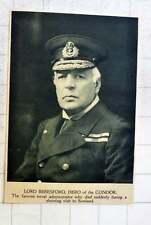 1919 Lord Beresford, Hero Of The Condor