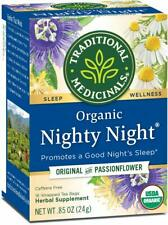 TEA NIGHTY NIGHT PASSIONFLOWER RELAXATION Sleep Medicinals (16 bags x 5 boxes)