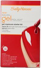 Sally Hansen - Salon Gel Manicure Starter Kit W/ LED Lamp Red My Lips 40299