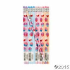 CUPCAKES Pencils Assortment Fun Express (pack 12)