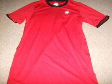 Russel Athletic Rosso Nero dripower Sports TOP CANOTTA T SHIRT S