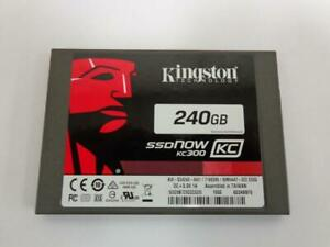 """Kingston SSDNow KC300 240GB 2.5"""" 6Gb SSD SATA Drive KW-S34240-4W1"""