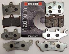 FERODO PASTIGLIE PLATINUM FRENO ANT CAGIVA 750 DAKAR 1987-
