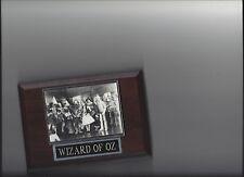 WIZARD OF OZ PLAQUE MOVIES TV CAST PLAQUE