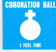 (FM830) Coronation Ball, I Feel Fine  - 2014 DJ CD