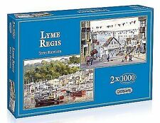Gibson Lyme Regis - 2 X 1000pc Jigsaw Puzzle